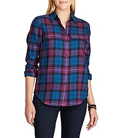 Chaps® Plaid Workshirt