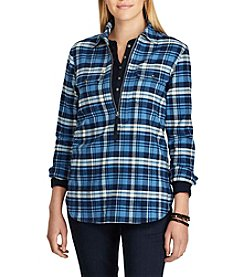 Chaps® Long Sleeve Plaid Shirt
