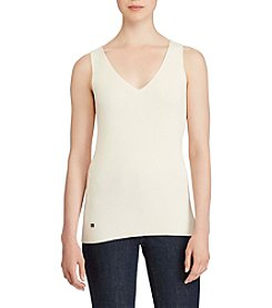 Lauren Ralph Lauren® V-Neck Sleeveless Sweater