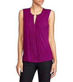 Lauren Ralph Lauren® Pintucked Jersey Top