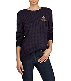 Lauren Ralph Lauren® Bullion Cableknit Sweater