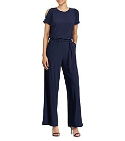 Lauren Ralph Lauren® Cutout Shoulder Jersey Jumpsuit