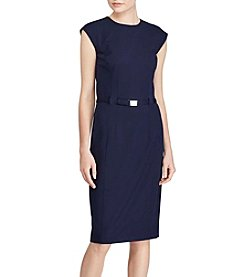 Lauren Ralph Lauren® Twill Sheath Dress