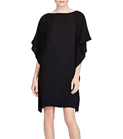 Lauren Ralph Lauren® Draped Georgette Dress