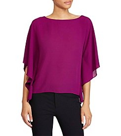 Lauren Ralph Lauren® Draped Georgette Top