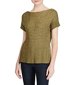 Lauren Ralph Lauren® Short Sleeve Sweater