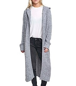 Silver Jeans Co. Skye Hooded Maxi Cardigan
