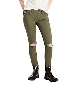Levi's® Super Skinny Destructed Kalamata Jeans