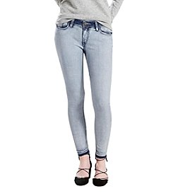 Levi's® Super Skinny High-Low Hem Jeans