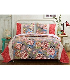 Barefoot Bungalow Gypsy Rose 3-pc. Quilt Set