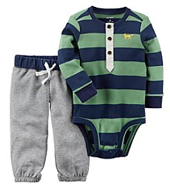 Carter's Baby Boys' 2 Piece Striped Bodysuit Pant Set