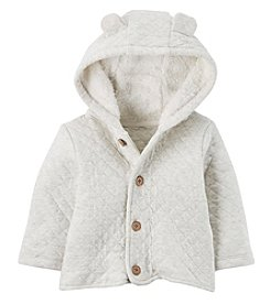 Carter's® Baby Hooded Quilted Jacket