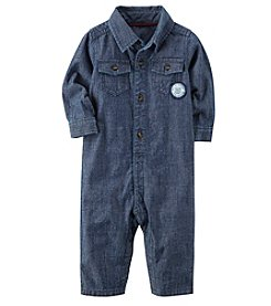 Carter's® Baby Boys' Denim Jumpsuit