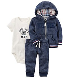 Carter's® Baby Boys 3 Piece Mighty Cute Set