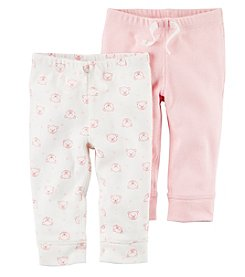 Carter's Baby Girls' 2-Pack Pants Set