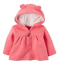 Carter's Baby Girls' 3M-24M Hooded Quilted Jacket