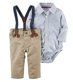 Carter's® Baby Boys' 3 Piece Striped Print Dress Me Up Set