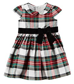 Carter's® Baby Girls' Plaid Holiday Dress