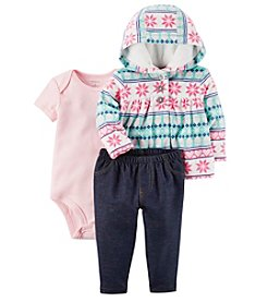 Carter's Baby Girls' 3-24 Months 3 Piece Little Jacket Set
