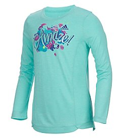 adidas® Girls' 8-16 Amaze Long Sleeve Top