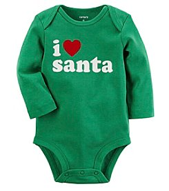 Carter's® Baby I Heart Santa Collectible Bodysuit