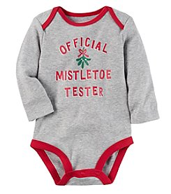 Carter's® Baby Mistletoe Tester Collectible Bodysuit