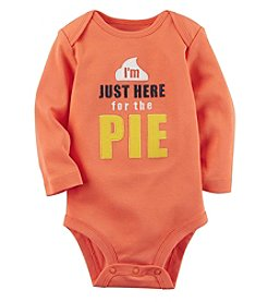 Carter's Baby Here For The Pie Collectible Bodysuit