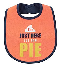 Carter's Baby Just Here For The Pie Teething Bib