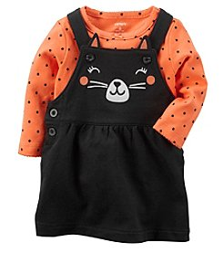 Carter's® Baby Girls' 2 Piece Cat Bodysuit And Jumper Set