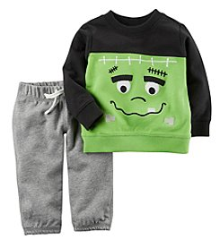 Carter's® Baby 2 Piece Frankenstein Top And Pants Set