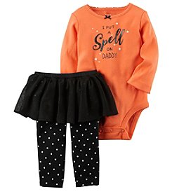 Carter's® Baby Girls' 2 Piece Bodysuit And Tutu Pants Set