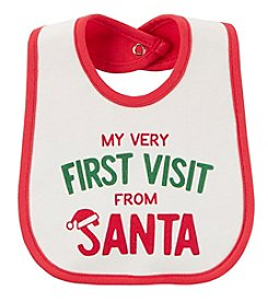 Carter's Baby First Visit From Santa Teething Bib