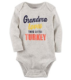 Carter's® Baby Grandma Loves This Little Turkey Collectible Bodysuit