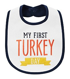 Carter's Baby My First Turkey Day Teething Bib