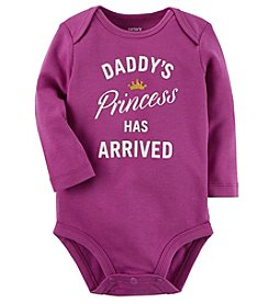 Carter's Baby Girls' Daddy's Princess Collectible Bodysuit