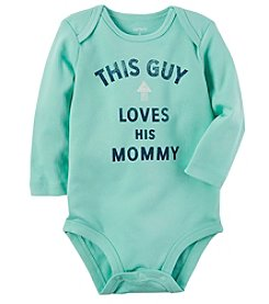 Carter's Baby Boys' This Guy Loves His Mommy Collectible Bodysuit