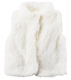 Carter's Girls' 2T-4T Faux Fur Vest