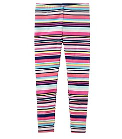 Carter's Girls' 2T-4T Striped Leggings