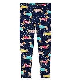Carter's Girls' 2T-4T Dog Leggings