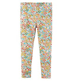 Carter's Girls' 2T-4T Floral Leggings