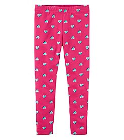 Carter's Girls' 2T-4T Heart Leggings