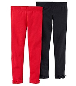 Carter's Girls' 2T-4T 2-Pack Leggings