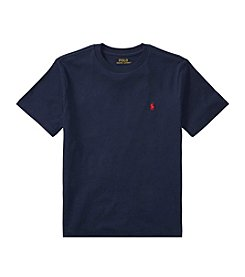 Polo Ralph Lauren® Boys' 2T-18 Short Sleeve Jersey Tee