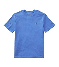 Polo Ralph Lauren Boys' 2T-18 Short Sleeve Jersey Tee
