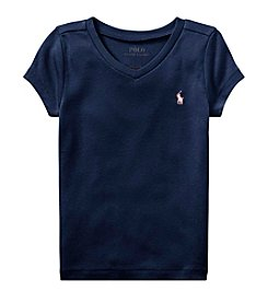 Polo Ralph Lauren® Girls' 2T-16 Short Sleeve Knit Tee