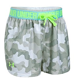 Under Armour® Girls'4-6X Novelty Play Up Shorts