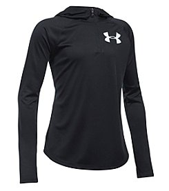 Under Armour® Girls 4-6X Long Sleeve Solid Zip Hoody