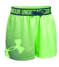 Under Armour® Girl's 4-6X Novelty Play Up Shorts