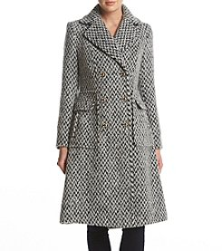 Ivanka Trump Tweed Walker Coat