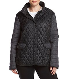 Gallery® Plus Size Quilted Jacket